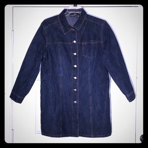 Chico's Elongated Denim Jacket